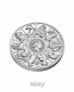 2021 Queens Beast 1 Kg Silver Bullion Completer Coin 1 Kilo Bar BRAND NEW