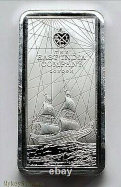 2021 St. Helena 250g Silver Bar 8 oz plus = ¼ Kilo pure. 999 Silver Coin Bar