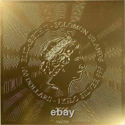 Adele Bloch Bauer Klimt Giants of Art 1 Kilo Silver Coin Solomon Islands 2020