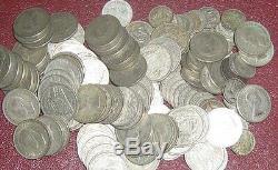 Australia 1 Kilo Of Silver Coins 1946 To 1963