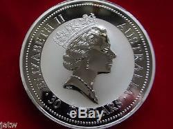 Australia. 1994 1 Kilo coin Silver Kookaburra. BU