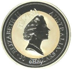 Australia 1994 Large Silver Coin 30 Dollars Kookaburra Bird kilo kg NGC MS68