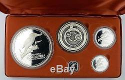 Australien Kookaburra 5 Coin PP PROOF Silber Silver 2002 1/2 1 2 10 Unzen Kilo