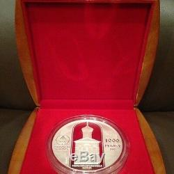 Belarus 2007 Silver Coin 1000 Roubles 1 Kilo THE EUPHROSYNE'S Of Polotsk Cross