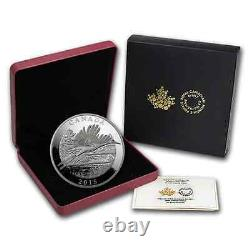 Canada 2015 125$ Conservation Series The Whooping Crane 1/2 Kilo Silver Coin