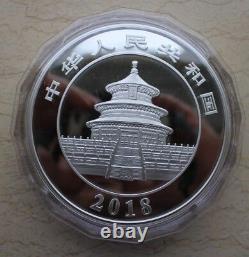 China 2018 Silver 1 Kilo Panda Coin