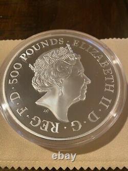 First Strike Serial #3! Britannia 2021 UK Premium Exclusive Silver Kilo Coin