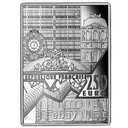Frankreich 250 Euro 2020 Meisterwerke der Museen Van Gogh 1/2 Kilo Silber PP