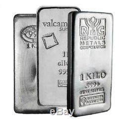 Generic Silver 1 Kilo Bar