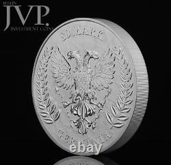 Germania 2020 80 Mark Germania 1 Kilo 1 Kg 999.9 Silver BU Coin