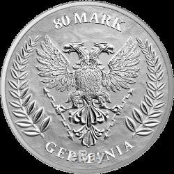 Germania 2020 80 Mark Germania 1 Kilo 1 kg 999.9 Silver Coin