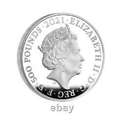 HRH The Prince Philip, Duke of Edinburgh 2021 UK One Kilo Silver Proof Coin 1kg
