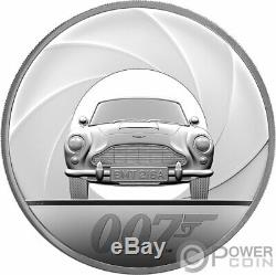 JAMES BOND 007 Agent 1 Kg Kilo Silver Coin 500 Pounds United Kingdom 2020