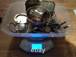 Just Over 1 Kilo Kg Sterling Silver Coins And Scrap