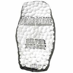 Kilo 32.15 Oz Silver. 999 Fine Tombstone Arizona Territorial Bar Scottsdale Mint