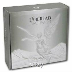 Libertad Mexico 2018 1 Kilo Pure Silver Proof Like Coin With Box & Coa