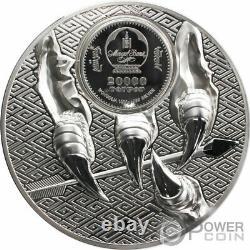MAJESTIC EAGLE 1 Kg Kilo Silver Coin 20000 Togrog Mongolia 2021
