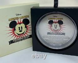 Mickey Mouse Disney Steamboat Willie 2015 1kilo Niue $100 Silver Coin Pf 69 Uc