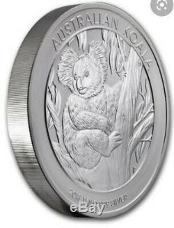 PERTH MINT 2013 KILO 32.15TOz. 999 SILVER COIN AUSTRALIAN KOALA INCASE BRAND NEW