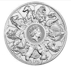 PRE-SALE 1 Kilo Queen Beasts'COMPLETER' 9999 Fine Silver (32.15 Oz) STUNNING