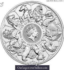 Queen's Beast Silver Kilo. 999 Pre-sale 32.15 Troy Oz Limited Mintage Queen