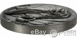 RHINO Big Five Mauquoy 1 Kg Kilo Silver Coin 10000 Francs Ivory Coast 2020