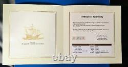 Rare Christopher Columbus 5 Kilo Silver Coin