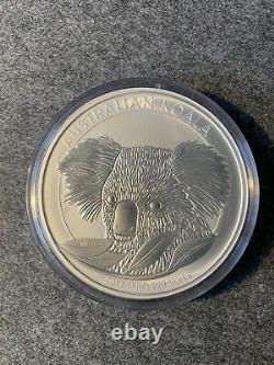 Silbermünze 1kg Australian Koala 2014 1 Kilo 999 Silver mit Rechnung