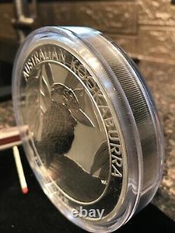 Silver kilo 999 Kookaburra 2014 giant kilo over 32 Oz bullion silver coin Bar