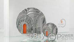 TIFFANY ART ORIENTALISM Castle Sammezzano 1 Kg Kilo Silver Coin 50$ Palau 2018