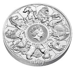 The Queen's Beasts 2021 Kilo Silver Bullion Coin (Sold Out at the Royal Mint)