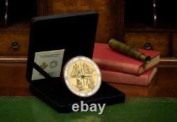 Very Rare half kilo silver coin celebrating the Tall Ships of Canada Ltd 500