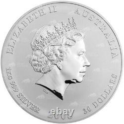 1 KG De 2008 Année Lunaire De La Souris Silver Coin