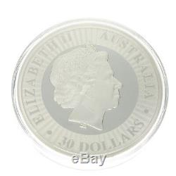 1 KG Känguru Silber 2017 $ Sur 30 1 Australie Kilo Känguru Silbermünze Preuve 2017