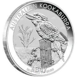1 KG Kilo 2016 Australian Kookaburra Silver Coin