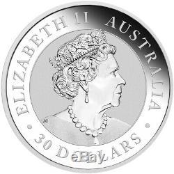 1 KG Kilo 2019 Australian Kookaburra Silver Coin