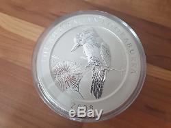 1 KG Silber Münze Kookaburra 2008 (entspricht 35,28 Unzen) Bullion Oz Kilo Barren