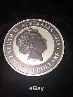 1 Kilo Australien Kookaburra 999 Pièce En Argent Pur