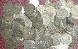 1 Kilo De Pièces D'argent Australiennes De 1946 À 1963