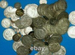 1 Kilo De Pièces D'argent En Australie Tout En Argent Sterling