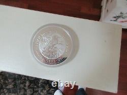 1992,1 Kilo, Argent, Australien Kookaburra. 999 Pièces D'argent