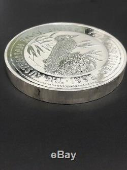 1992 $ 30 Australie 1 Kilo KG Argent Kookaburra (capsule) Garanti Authentique