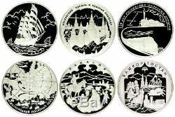 1995-2018 Russie Big Collection De Rares 1 Kilo KG 62 Silver Coins Ngc 68-70 Rare
