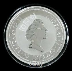 1997 Australie Argent 32,15 Oz 1 Kilo Kookaburra Choix Mint Etat Preuve Comme