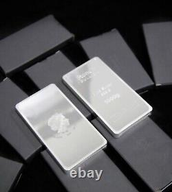1kg Silver Coin Bullion Bar 999.9 Fine Silver Bar 1 Kilo Boîte-cadeau - Certificate1