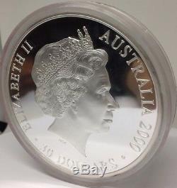 2000 Jeux Olympiques De Sydney En Australie 30 $ 1 Kilo D'argent Preuve Colorisation