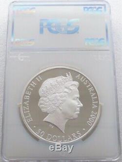 2000 Jeux Olympiques De Sydney En Australie $ 30 Silver Dollar Proof Kilo Coin Pcgs Pr67