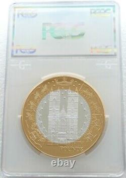 2002 Alderney Jubilé D'or De 50 Fifty Pound En Argent Épreuve Numismatique Kilo Coin Pcgs Pr68 DC