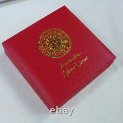 2002 Australien Lunar Chinois Zodiac. 999 Pièce D'argent Année Du Cheval 1 Kilo