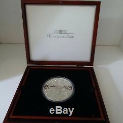 2003 France La Déesse Europa Énorme 1 Kilo KG 50 Euro Coin Argent